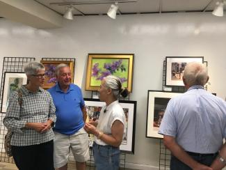 Art in August artist reception