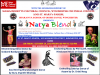 """Natya Blend"" performance flier"