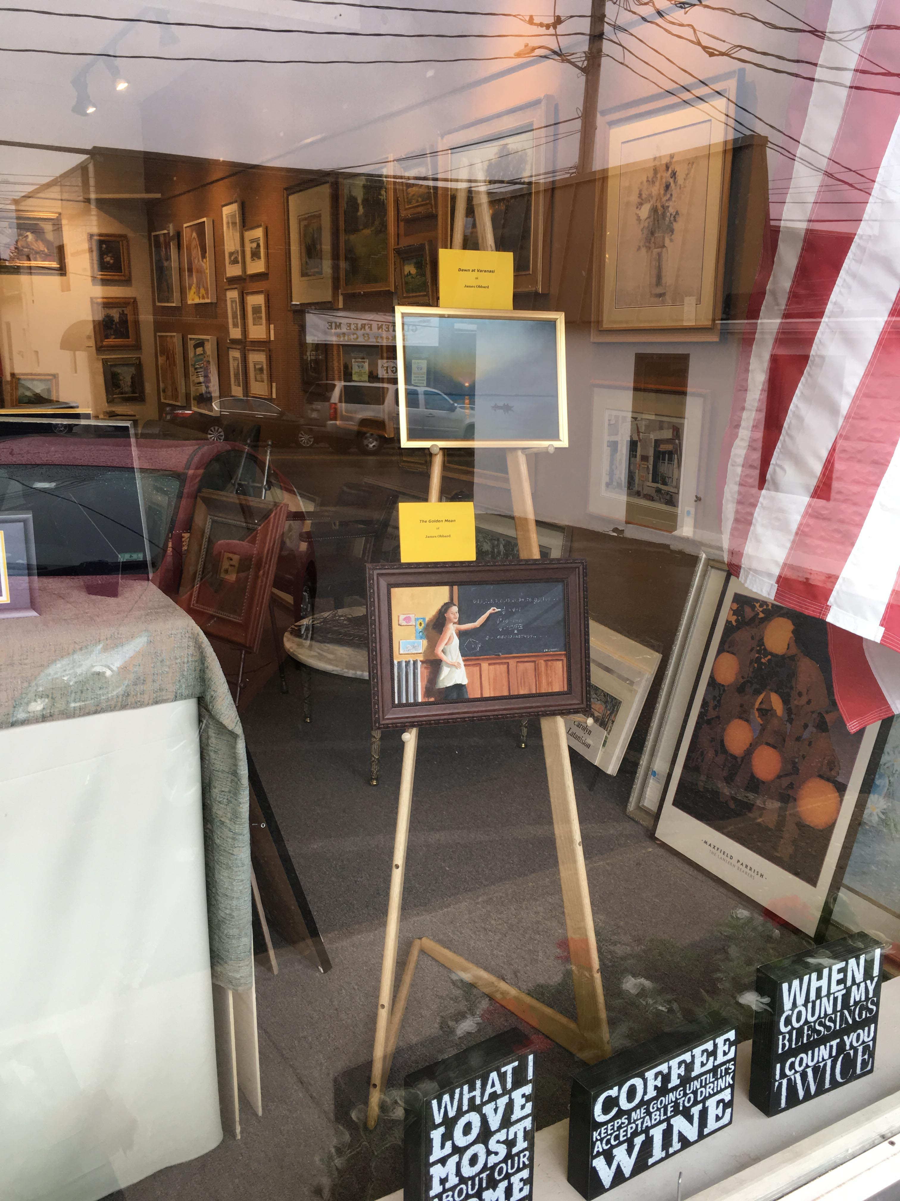 Art in August Display