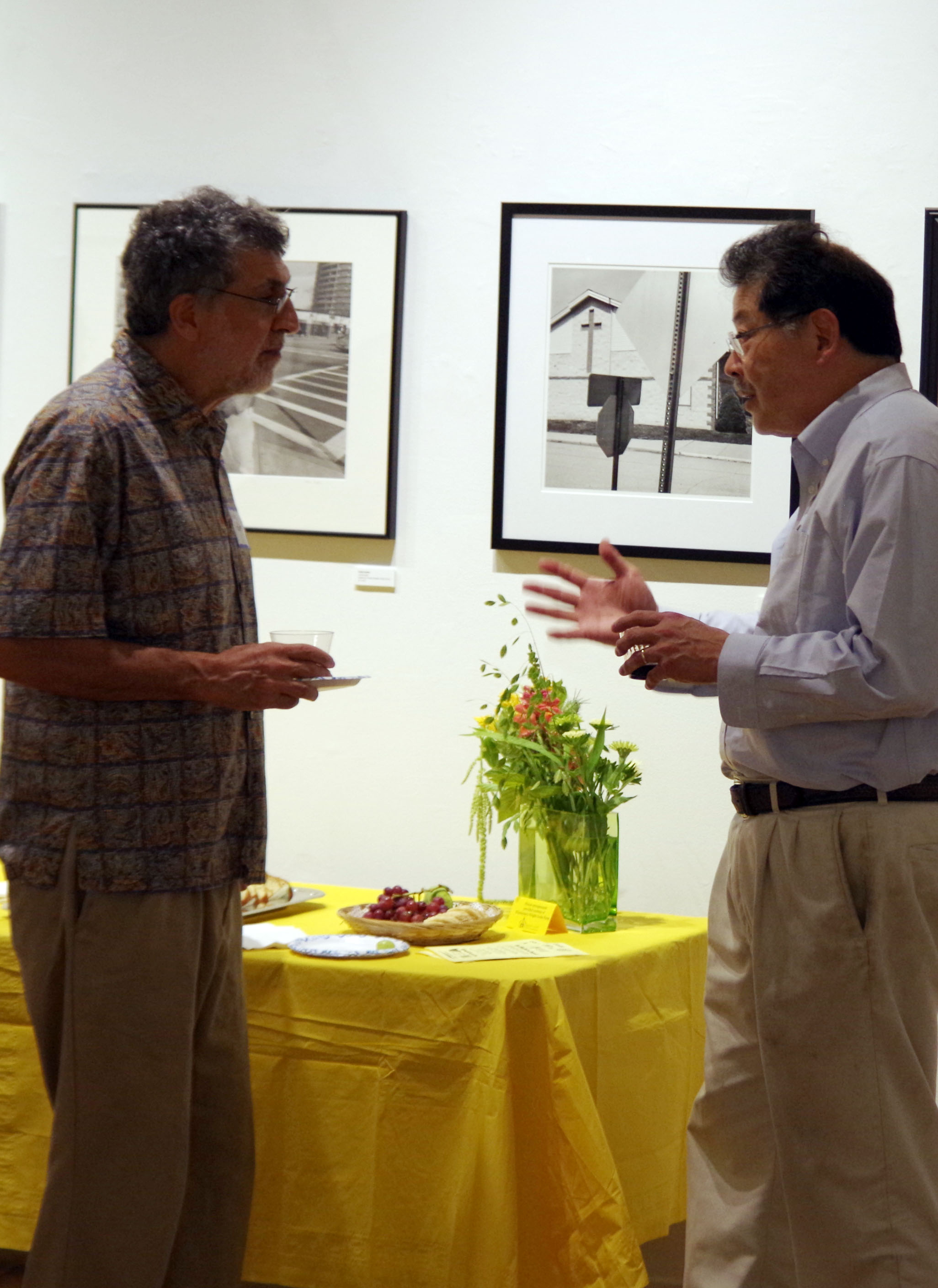 Art in August Reception