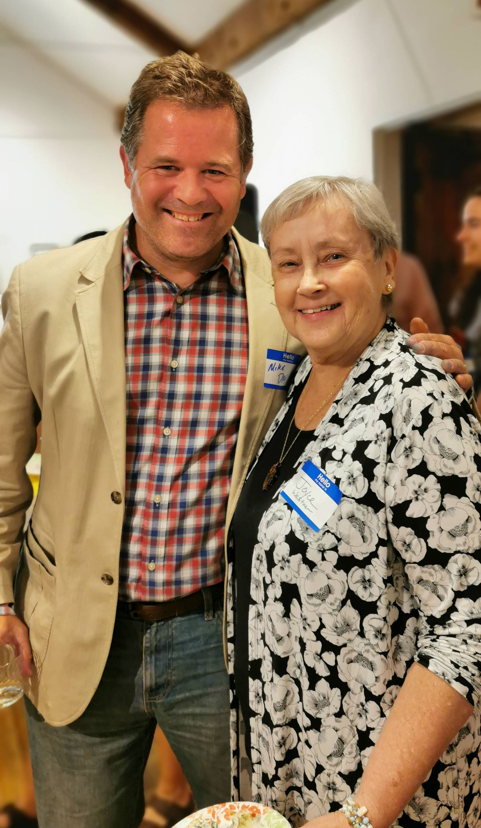 Michael Day, Joyce Westner, Art in August Gala Reception 2019